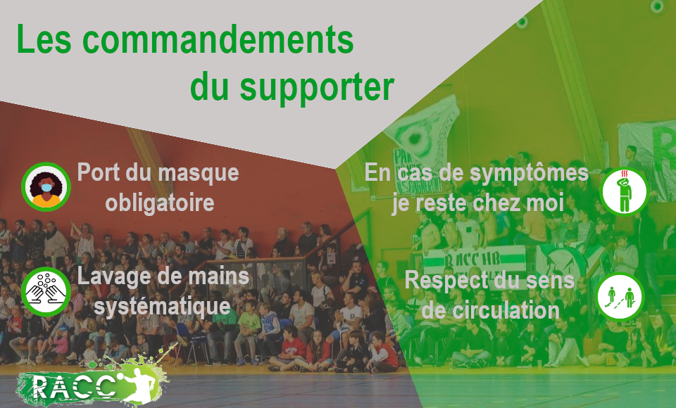 Les commandements du supporter
